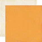 Echo Park Paper Co - For the Record 2 - Tailored - Orange Cream