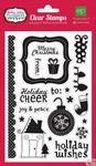Echo Park Paper - Holly Jolly - Clear Stamp Set