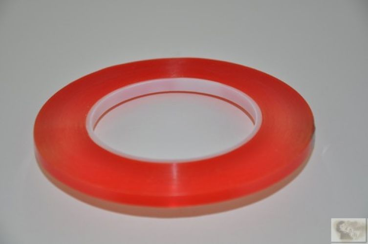 Super Strong Red Double Sided Tape - 3mm x 32mt