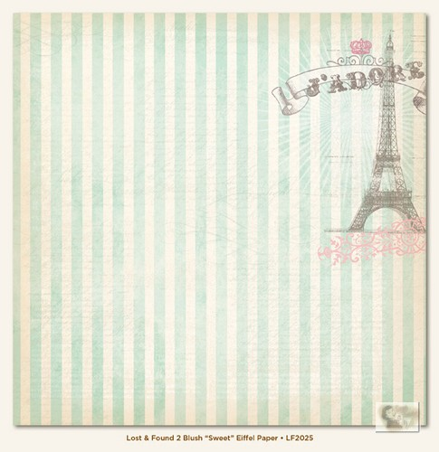 My Minds Eye - Lost and Found 2 - Blush - Sweet Eiffel Paper