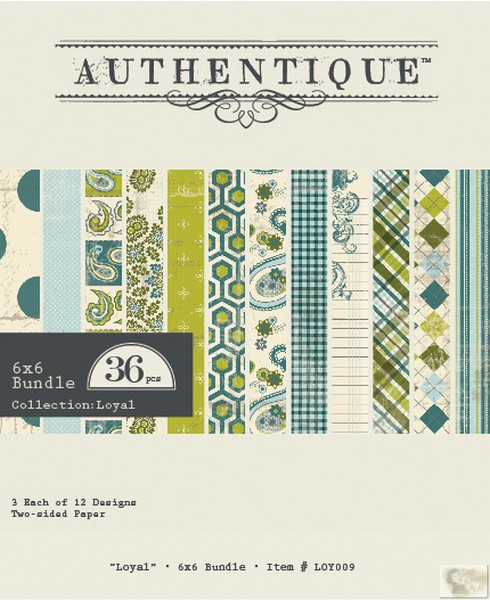 Authentique - Loyal - Bundle 6x6 Bundle