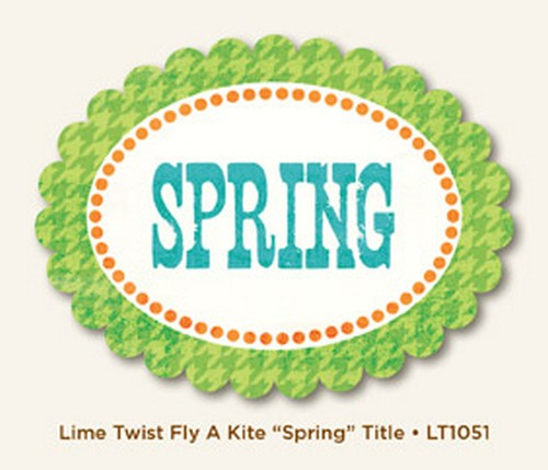 My Minds Eye - Lime Twist - Fly a Kite - Spring - Title