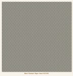 My Minds Eye - Lush - Black Checkers Paper