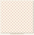 My Minds Eye - Lush - Pink Large Polka Dots Paper