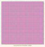 My Minds Eye - Lush Fuchsia Houndstooth Paper