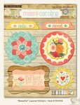 My Minds Eye - Miss Caroline - Howdy Doody - Beautiful Layered Stickers
