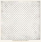"My Minds Eye - Meadowlark - Dusk - ""Black Polka Dot"" Paper"