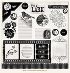 "My Minds Eye - Meadowlark - Dusk - ""Dusk"" Accessories Sheet"