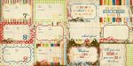 Simple Stories by Memory Works - Elementary - 4x6 School Year Journaling Card Elements #2 12x12 Double Sided Patterned Paper
