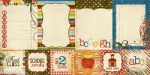 Simple Stories by Memory Works - Elementary - 4x4 Quote & 6x6 Photo Mat Elements 12x12 Double Sided Patterned Paper