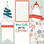 Echo Park Paper Co. -  Photo Freedom -  Dear Santa - Happy Holiday