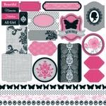 Teresa Collins - Posh - Die-cut Sheet