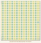 "My Minds Eye - Quite Contrary - Jack & Jill  -""Favorite Thing"" Bright Argyle Paper"