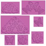 Spellbinders - Enhanceabilities - Butterflies and Flowers