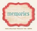 "My Minds Eye - Stella and Rose - Hazel - ""Memories"" Title"