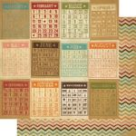 Simple Stories - Year-O-Graphy - Bingo Cards/Chevron