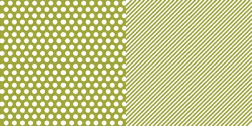 Simple Stories Sn@p! Green Dot/Stripe 65# Double Sided Cardstock