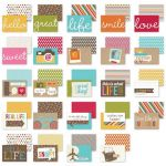 Simple Stories 4x6 Sn@p! Cards - Snappy Sayings