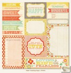 My Minds Eye - The Sweetest Thing - Tangerine - Hello Greetings Paper