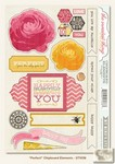 My Minds Eye - The Sweetest Thing - Honey - Perfect Chipboard Elements