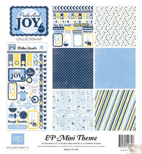 Echo Park - EP Mini Themes - Pride & Joy Collection Kit