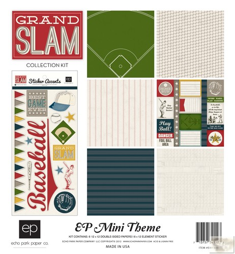 Echo Park - EP Mini Themes - Grand Slam Collection Kit