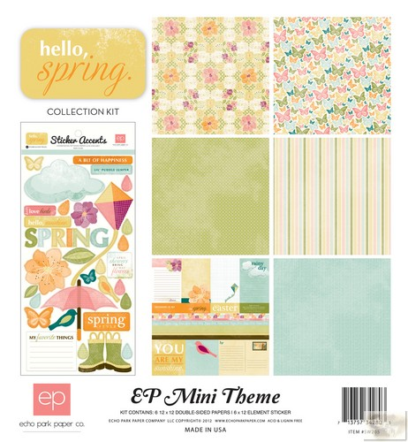 Echo Park - EP Mini Themes - Hello, Spring Collection Kit