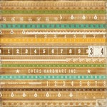 Echo Park - This and That Charming - Yardsticks Patterned Paper