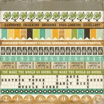 Echo Park - This and That Charming - Border Strips Patterned Paper