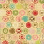 Echo Park - This and That Graceful - Wooden Nickel Patterned Paper