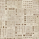 Echo Park - This and That Graceful - Bingo Patterned Paper