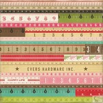 Echo Park - This and That Graceful - Yardsticks Patterned Paper