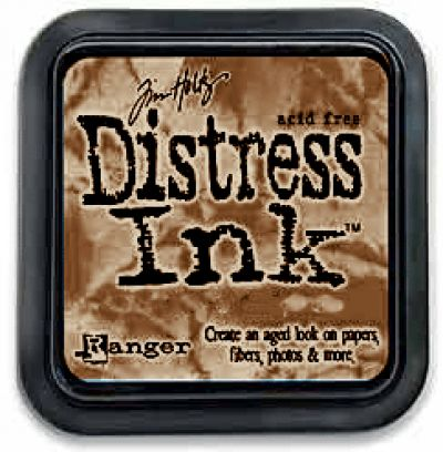 Tim Holtz Distress Ink Pad by Ranger - Frayed Burlap