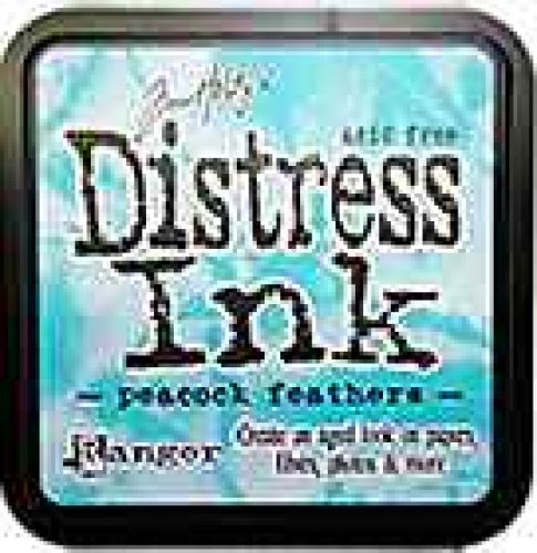 Tim Holtz Distress Ink Pad by Ranger - Peacock Feathers