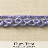 Websters Pages - Ribbon and Trim - Plum