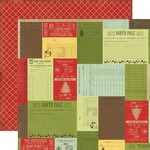 Echo Park Paper Company - This and That Christmas - Christmas Receipts