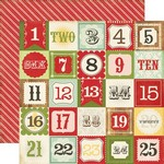 Echo Park Paper Company - This and That Christmas - Christmas Countdown