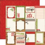 Echo Park Paper Company - This and That Christmas - Jouranling Card