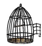 Art Impressions - Un Mounted - Fronts-N-Backs - Birdcage