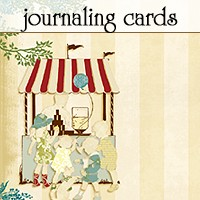 Websters Pages - WonderFall - Journal Card