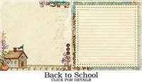 Websters Pages - WonderFall - Back to School