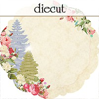 Websters Pages - Sweet Season - 12 x 12 Diecut Paper