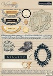 Teresa Collins - Vintage Finds - Layered Stickers