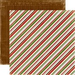 Echo Park Paper Co - Very Merry Christmas - Diagonal Stripe