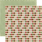 Echo Park Paper Co - Very Merry Christmas - Christmas Argyle