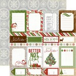 Echo Park Paper Co - Very Merry Christmas - Journaling Cards
