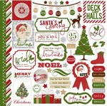 Echo Park Paper Co - Very Merry Christmas - Element  Stickers