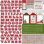 Echo Park Paper Co - Very Merry Christmas - Alpha Stickers