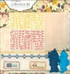 Webster's Pages - Collection Kit - Western Romance Papers & Embellishments - Collection Kit