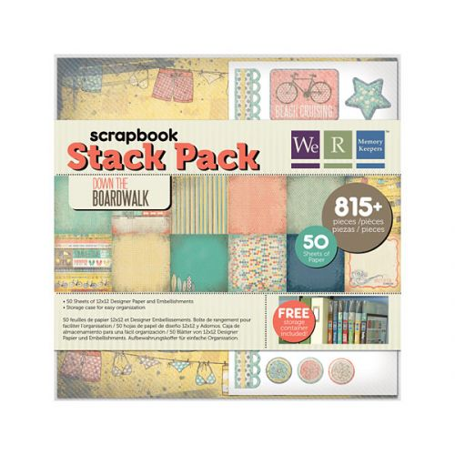 We R Memory Keepers - Down The Boardwalk - Stack Pack